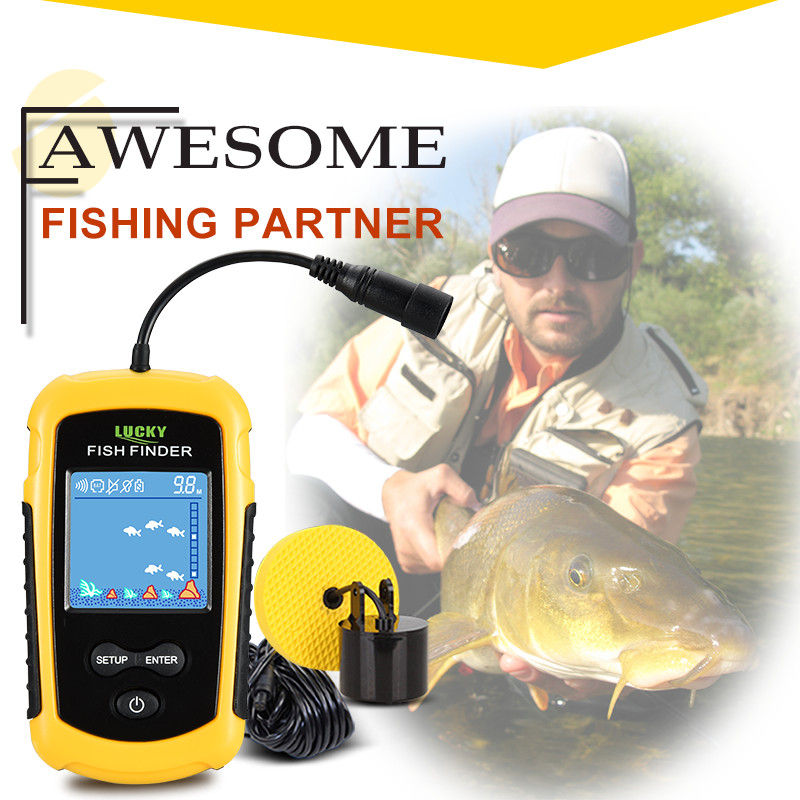 Fish finder Sonar portable sonar sensor fish finder findfish (1)