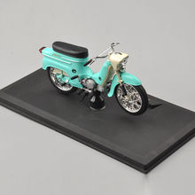 mini motorcycle 1/18 Scale moto models Green Motorcycle Motor Bike Toy Model JAWA 50 Type Motorcycle Model Kids toys Collection