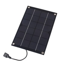 6W 5V Semi Flexible Solar Cell Panel with USB Output Size 250*170mm Mini Solar panel for DIY Solar System and Education Test