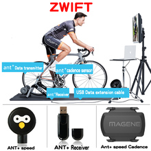 MAGENE USB ANT+ Sensor Data Heart Rate Receiver Compatible Garmin Forerunner Stopwatch Series Bicycle Computer ANT+ USB Sticker(China)