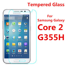 Screen Protector Film 0.3mm 9H 25D Front Premium Tempered Glass For Samsung Galaxy Core 2 II Core2 Case G355 G355H G3559(China)