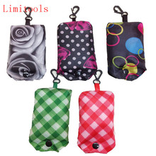 LIMITOOLS New Foldable Handy Shopping Bag Reusable Tote Pouch Recycle Storage Handbags Home Storage Organization Bag
