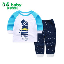 Baby Sets Cotton Autumn Clothing Set Girl Outfits Newborn Boys Clothes Bebes Toddler Long Shirt Pants Suits - GG. Flagship Store store