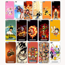 896CA Cartoon Luffy One Piece Hard Case for Xiaomi Redmi 4X 4 4A Pro prime Note 4 4X 2 3S 3 Pro Mi5 Mi5s Mi6 Mi 5 6 5S