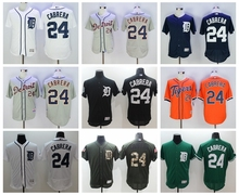 MLB High quality Detroit Tigers Trammell Gibson Parrish Al Kaline Miguel Cabrera jerseys(China)