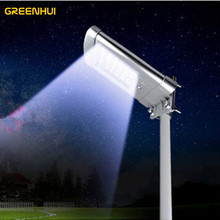 high quality 5W 500lm 24LED Outdoor Waterproof Solar led street light pir motion sensor Garden Security Lamp Wall Lights