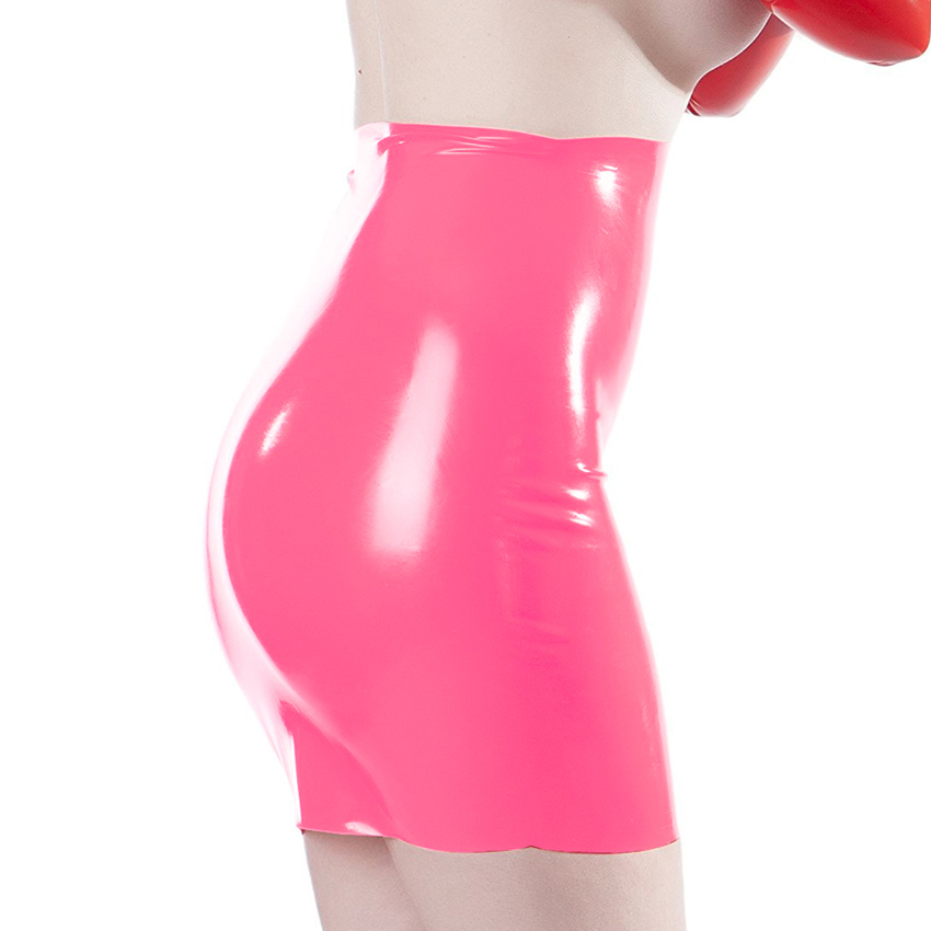 Sexy woman latex skirt 100% natural rubber fetish mini skirts exotic apparel costumes 3