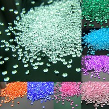 2000pcs/lot 4.5mm Scatter Table Crystals Diamonds Acrylic Confetti Wedding Birthday Graduation Party Decoration Festive Supplies