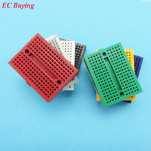 SYB-170 Mini Solderless Prototype Experiment Test Breadboard 170 Tie-points 35*47*8.5mm 7 Color