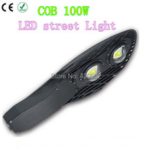 Led Street lights 100W COB 2*50W E40  Led industrial light IP66 waterproof Outdoor Off Road Lighting