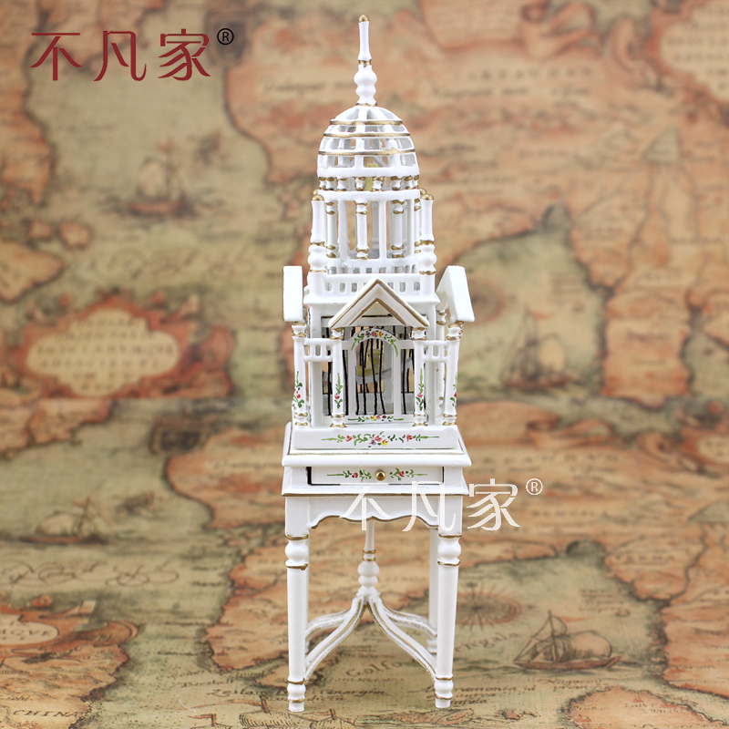 Dollhouses 1/12 scale miniature furniture Exquisite Hand painted Birdcage<br><br>Aliexpress
