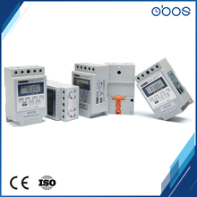 OBOS brand beautiful shape din rail 220V programmable timer switch with timing control range 1min-168H 10times on/off per day(China)