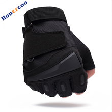 Usa special forces tactical gloves slip outdoor Men fighting fingerless gloves WDKL001 free shipping(China)