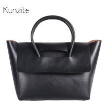2017 New Vintage Trapeze Women Bags Designer Handbag High Quality Pu Leather Fashion Big Sling Bag Tote Black Bag Sac A Main Hot(China)