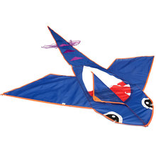 Hot New Cloths Big Kites Outdoor Fun Shark Sport Kite Without Handle Line Flying Higher Random Color For Kids Toy and Grownups(China)