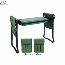 Homdox Folding Fishing Chairs Home Garden Seat Kneeler Kneeling Pad Rest Outdoor Lawn Beach Chair With Tool Pouch N3020(China)