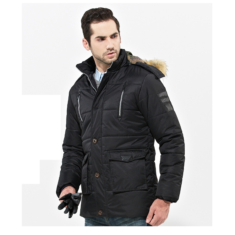 New Thickening Winter Jacket Men Windproof Jackets Hooded Winter Coat Cotton Padded Outerwear Brand Clothing Men/Male DJ08002Одежда и ак�е��уары<br><br><br>Aliexpress