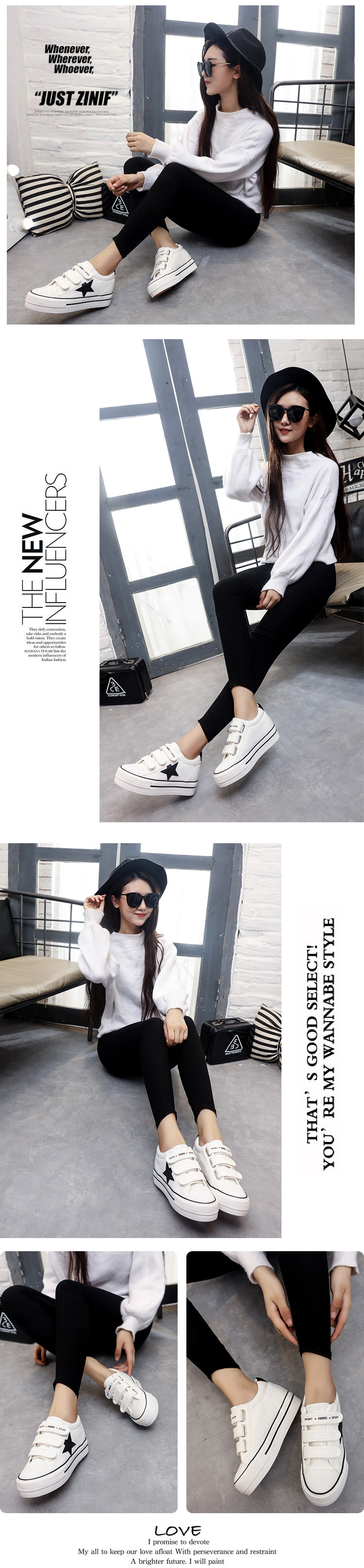 WOLF WHO Canvas Creeper Platform Sneakers Women Shoes Krasovki Ladies Female Footwear Tenis Feminino Casual Basket Femme H-105 3