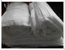 100pcs 36*29cm Factory wholesale White square non-woven drawstring bags large capacity cloth storage bags shoes