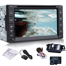MP5 MP3 PC Touch Screen HeadUnit Camera CD Music Radio System Navigator RDS In Deck AMP BT Stereo GPS Car DVD 3D Map(China)