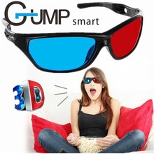 Virtual reality glasses 3D Glasses Red Blue Lens Virtual Reality For Video Movie Games Anaglyph Plastic Style 3D des lunettes G1