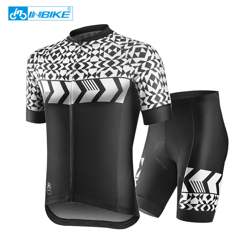 2017 pro team short sleeve cycling jersey sets men Breathable mtb bike cycling clothing G09