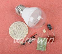 2PCS 38 LEDs Energy-Saving Lamps Suite without LED DIY Kits