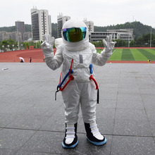 2017 Hot Sale ! High Quality Space suit mascot costume Astronaut mascot costume with Backpack with LOGO glove,shoes(China)