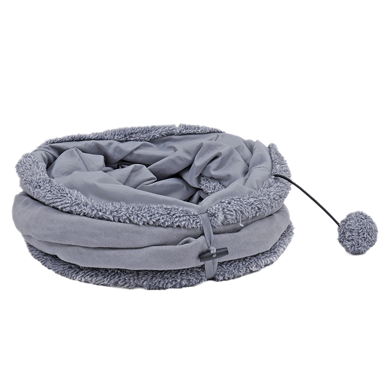 big cat tunnel Big Long Cat Tunnel with Play Ball Suede Material-Free Shipping HTB1yCHclLBNTKJjy0Fdq6APpVXax