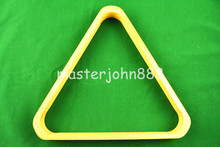 Pool Billiards Snooker Ball Rack Natural Wood Triangle 52mm/57mm (Optional) Snooker Accessories Free Shipping Wholesales(China)