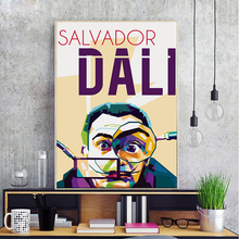 Spanish Surrealist Painter and Printmaker Salvador Dali Canvas Painting Art Print Poster Picture Wall Home Bedroom Decoration(China)