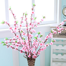 Peach Blossom Artificial Silk Bouquet Artificial Flower China Floral Party Home Decor For Decorative Flowers & Wreaths BF(China)