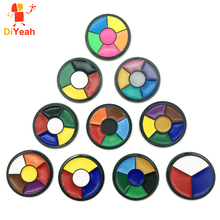 DiYeah Oil Painting Face Body Paint Death Wheel Flash Tattoo Art Use Halloween Party Fancy Carnival Beauty Makeup Grease Pigment
