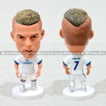 "Soccer 7# Cristiano ronaldo(RM) 2.5"" Action Doll Toy Figure 2015-2016 season"