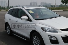 Aluminium Alloy Roof Rack Side Rails Bars Silver For Mazda CX-7 CX7 07-12 2007 2008 2009 2010 2011 2012(China)