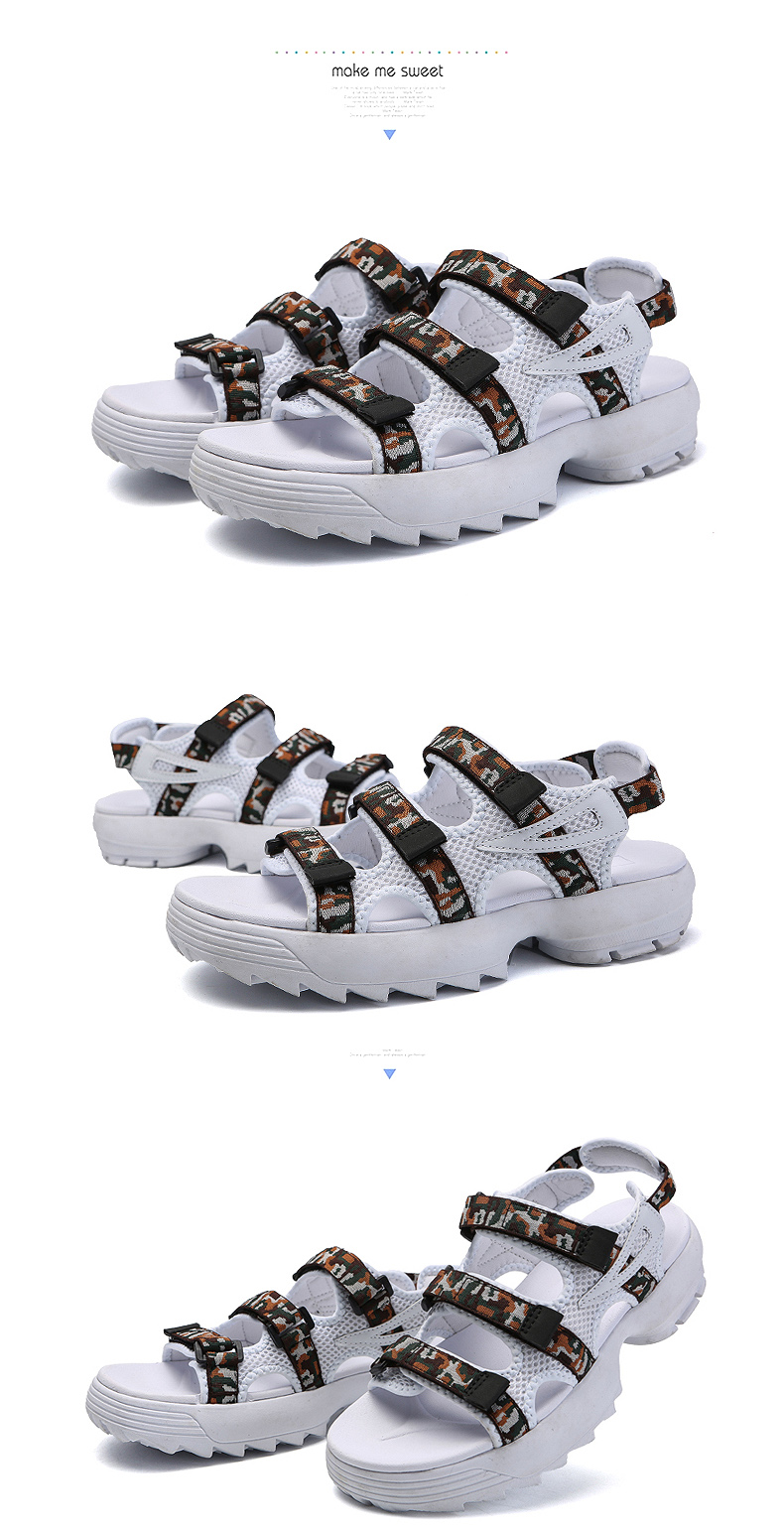 Sandals Men's Beach Shoes Summer Sports Korean Version Of The Trend Increase Big Sandals And Slippers Summer Boys Tide 26 Online shopping Bangladesh