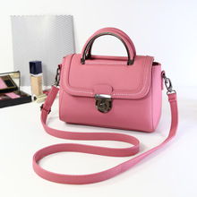 Candy Colors Woman Bag Promotional Ladies PU Leather Handbag Shoulder Bags Women Crossbody Bag Small Package Bolso Mujer J95