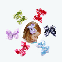 new style baby hair clips with a bow knownot Hairclip Baby Girl Headdress Accessories Hair Clips Infant Toddler Kid Girls(China)