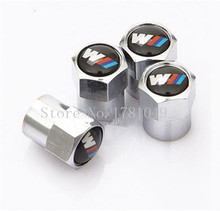 Free shipping Car Wheel Tire Valve Caps For BMW E46 E52 E53 E60 E90 E91 E92 E93 F01 F30 F20 F10 F15 F13 M3 M5 M6 X1 X3 X5 X6