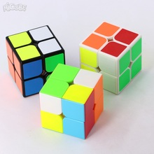 Micube QiYi 2x2x2 cube QiDiS Magic Cube Speed Puzzle 50mm Cube Educational Toys for children cubo magico(China)