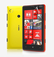 High Quality Power Support Anti-Glare Screen  Protector Film Set for Nokia Lumia 720