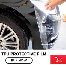 TPU Car Body Protective Film car paint Protective Film Rhinoceros Leather Car Body Anti-scratch Anti-Wrinkle free shipping(China)