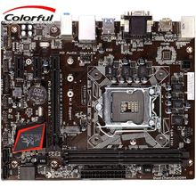 COLORFUL Motherboard LGA1151 Socket Processors not 2011 Battle AXE C.B250M-HD V20 Desktop Mother Board For Mining User Moto(China)
