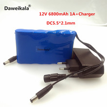 Portable 18650 Li-ion battery pack, super capacitor DC 12V 6800mAh in Video Surveillance, Computer Aided Manufacture