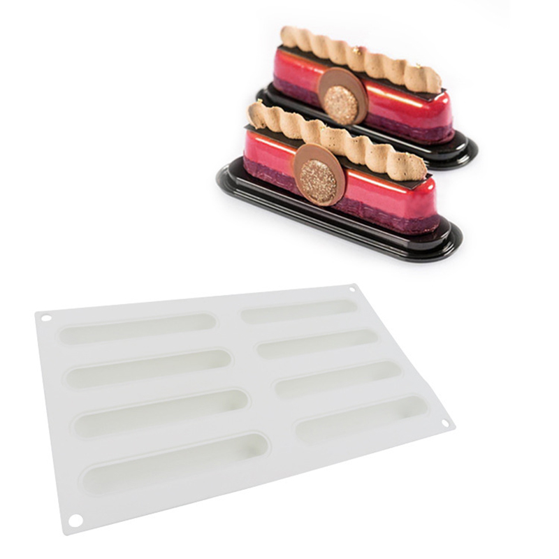 XINAHER-Silicone-3D-Paris-Brest-Eclair-Baking-Cake-Mold-For-Cookies-Chocolates-Candies-Ice-Cubes-Bakeware (2)