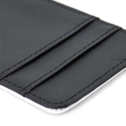 coated DIY card holder fabric polyester