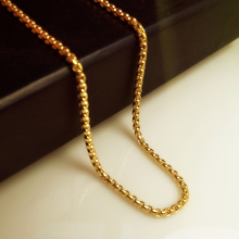 2017 New Golden Chain Couple pendant 75cm High Quality Fashion Hiphop Gold color long chain statement necklace men jewelry
