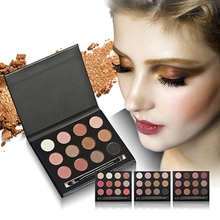 Eyeshadow Palettes Set New Professional 12 Colors Makeup-factory-direct Cheap Cosmetic Shimmer And Matte Eyeshadow Palette