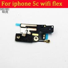 For iphone 5c WiFi Antenna Signal Receive Flex Ribbon Cable Repair Part High Quality