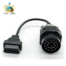 OBD OBD II Adapter for BMW 20 pin to OBD2 16 PIN Female Connector e36 e39 X5 Z3 for BMW 20pin(China)